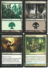MTG Magic the Gathering TCG RAVNICA Necromantic Thirst Seeds of Strength Forest