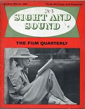 SS55-24-3 SIGHT AND SOUND 1955 Michael Redgrave KATHARINE HEPBURN MAGAZINE