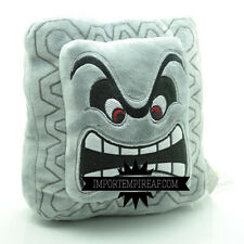 SUPER MARIO BROS. TWOMP 16 CM PELUCHE plush THWOMP DOSSUN CUSHION PILLOW cuscino