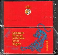 Tiger Beer 2010 CNY Tiger 1 pack 8 pcs Mint Red Packet Ang Pow