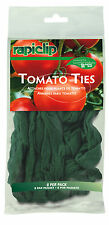 RAPITEST RAPICLIP TOMATO FLOWER PLANT VINE HOLDER NYLON TIES 8 PACK