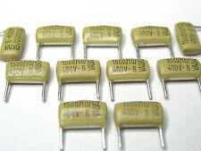 Valvo-Mullard Mustards Capacitors  0.0015uF - 400V  (1,5 nF)  x 1000 Pieces LOT