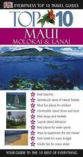 Top 10 Maui, Molokai and Lanai (Eyewitness Top 10 Travel Guides)