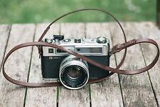 APERPURE Leather Camera Strap Shoulder/Neck Fits DLSR , film cameras - Brown