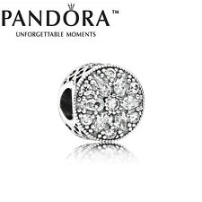 New Genuine Pandora Silver Cubic Zirconia Radiant Bloom Charm 791762CZ