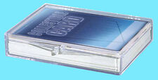 1 ULTRA PRO 35 COUNT CLEAR HINGED CARD STORAGE BOX Case Holder Sports Trading