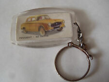 ANCIEN PORTE CLES BISCUITERIE CHERBOURGEOISE PEUGEOT 403 BERLINE