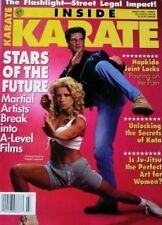 3/95 INSIDE KARATE MAGAZINE MICHALE WORTH SOPHIE CRAWFORD KUNG FU MARTIAL ARTS
