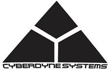TERMINATOR 01 Cyberdyne Systems Car Decal Sticker 20cm x 13cm