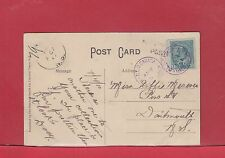 Halifax DLO Dead letter Office Victoria Park Truro 1910 Canada post card