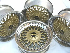 BMW E28 E34 535 M5 E24 635 M6 M3 E39 BBS GOLD Style 5 RC090 17x8 Wheels Rims