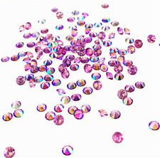 500Pcs 3mm AB Crystal Birthstones Floating Charm for Glass Living Memory Lockets