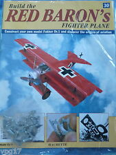 BUILD THE RED BARON'S FIGHTER PLANE FOKKER DR1  HACHETTE  ISSUE  30  NEW SEALED