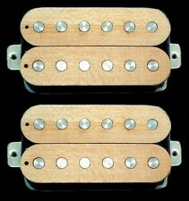 Guitar Parts GUITARHEADS PICKUPS LUMBERBUCKER HUMBUCKER Wood Top - SET 2 - MAPLE