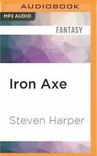 The Books of Blood and Iron: Iron Axe 1 by Steven Harper (2016, MP3 CD,...