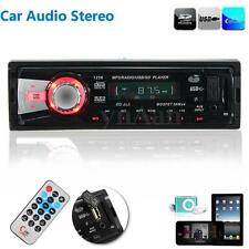 Autoradio Stereo Auto Audio Aux Ricevitore SD USB FM MP3 Player + Telecomando