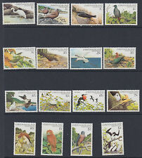 CHRISTMAS ISLAND: 1982 Birds definitive set 1c-$4 SG 152-67 MNH