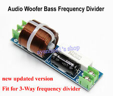 1pc Independent Car Audio Woofer Bass Frequency Divider Crossover Filters 800Hz