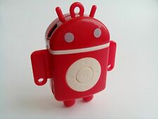 MINI Lettore mp3 Android in Rosso TF CARD SLOT Bundle di accessori