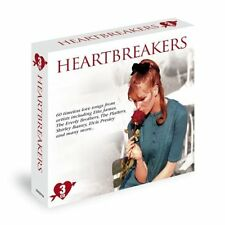 HEARTBREAKERS ~ NEW 3 CD BOX SET - 60 TIMELESS LOVE SONGS HITS OF THE 50's+ 60's