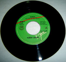 "PHILIPPINES:HUMAN LEAGUE - Human,Instrumental 7"",45 RPM,Record,Vinyl,rare"