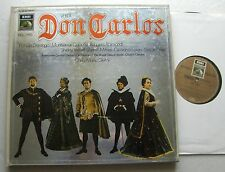 VERDI - GIULINI/DOMINGO/.. Don Carlos GERMANY Stereo 4LP Boxset EMI ANGEL Series