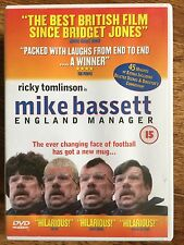 Ricky Tomlinson MIKE BASSETT ENGLAND MANAGER ~ British Football Comedy | UK DVD