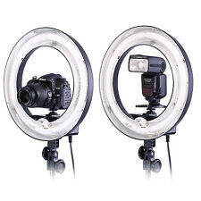 "Neewer Camera Photo 14""Outer 10""Inner 400W 5500K Ring Fluorescent Flash Light"