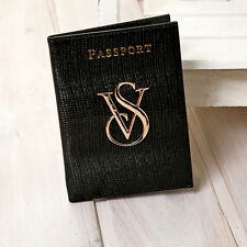 Black Victoria's Passport Holder Holders Bag VS Travel Passport Cover