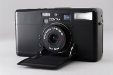 [EXC+++++ rare]Contax TVS III black 35mm Point & Shoot Film Camera  From Japan