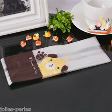 50PCs Cute Dog Frosted Plastic Bags Cookie Candy Cellophane Bags Party Gift