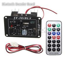 12V 20W Subwoofer MP3 Bluetooth Decoder Board Motorcycle Car Amplifier USB TF