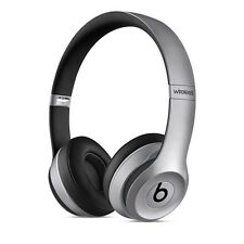 2016 Beats by Dre Solo 2 WIRELESS BLUETOOTH HEADPHONES - SPACE GREY Brand New