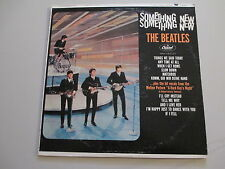 BEATLES-SOMETHING NEW--VINYL LP RECORD-RARE RAINBOW LABEL COLOR ERROR-CAP T 2108