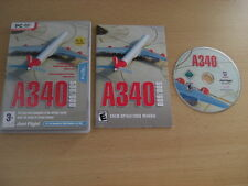A340 500/600 Pc DVD Add-On Expansion Flight Simulator Sim 2004 & X FS2004 FSX
