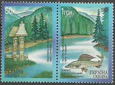 Ukraine - Europa: Natur- und Nationalparks postfrisch 1999 Mi.Nr. 302-303