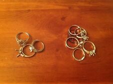14k, 10k, Sterling Rings For Fix Or Scrap
