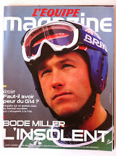 L'Equipe Magazine du 19/02/2005; Bode Miller/ Dossier G 14/ Paintball/ North Sho