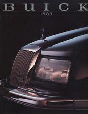 1989 Buick 94-Page Sales Brochure Book  - Riviera Electra Reatta LeSabre Skyhawk