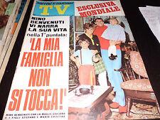 SORRISI E CANZONI 20/1968 BENVENUTI CINQUETTI MILAN CALCIO CELENTANO GAGLIARDI
