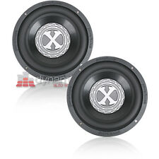 "Two (2) PowerBass 2XL-1504D 15"" Dual 4 ohm 2XL Series Car Audio Subwoofers New"