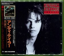 Andy Taylor THUNDER Japan 17-track CD w/OBI & 8-pg Booklet Sex Pistols DURAN AOR