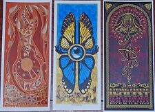 3 Jeff Wood Music Handbills String Cheese Incident NY City Min Art Print Poster