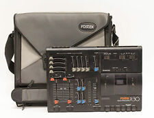 Fostex X-30 Multitracker 4 Track Cassette Recorder with Power Supply and Case