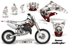 AMR Racing Honda CR85R Graphic Kit Decal Sticker MX Wrap 2003-2007 BONES WHITE