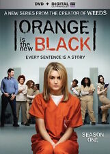 ORANGE IS THE NEW BLACK: SEASON 1 DVD - THE COMPLETE FIRST SEASON [4 DISCS] NEW