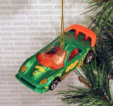 CHOWTIME CALLAWAY C-7 GREEN RACE CAR SPORTS RACING CHRISTMAS ORNAMENT XMAS