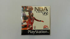 NBA LIVE 98, PS1 disque & manuel playstation one, FREE P&P
