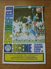 21/11/1982 Wigan Athletic v Telford United [FA Cup] (Creased).