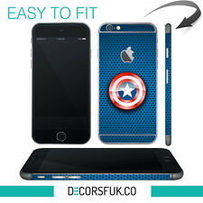 Captain America iPhone 6 wrap skin - iphone skins - Marvel iphone stickers